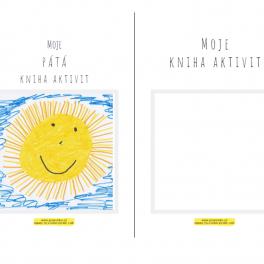 Titulní strana knihy aktivit - vytvořte si vlastní knihu a upravte si titulní stranu podle sebe