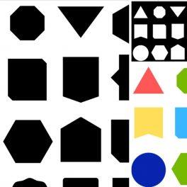 Ukázka přiřazování stíny tvary