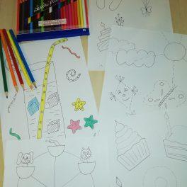 pracovní, listy, předškoláci