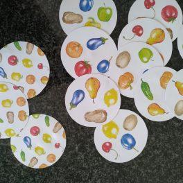 Hravé učení s ovocem a zeleninou