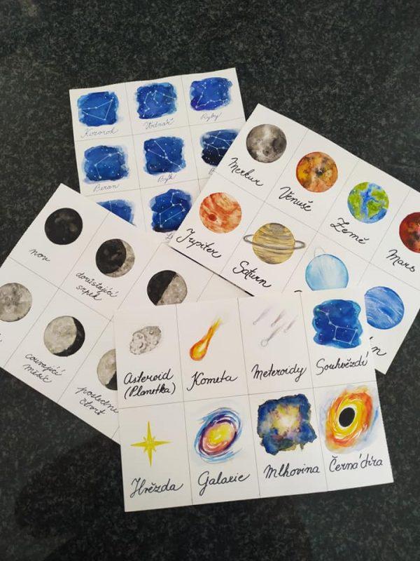 vesmír, obrázek,, sluneční, soustava, malovat, měsíc, planeta, souhvězdí, objekty