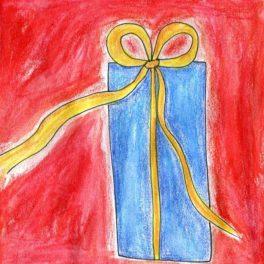 dárek, dárková, poukázka, karta