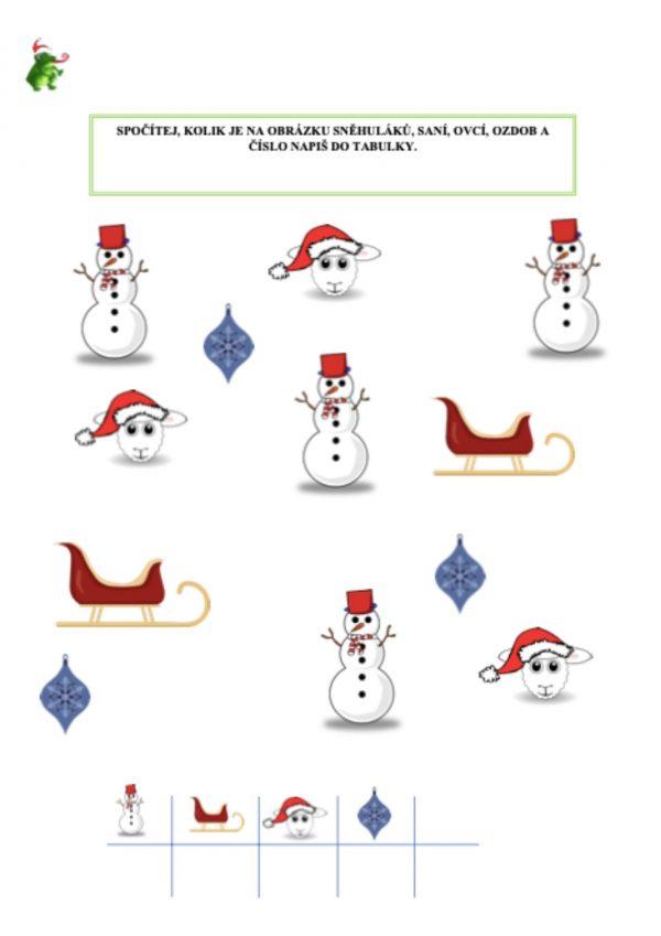 Sešit, Vánoce, Logilka, hláska, C, S, Z