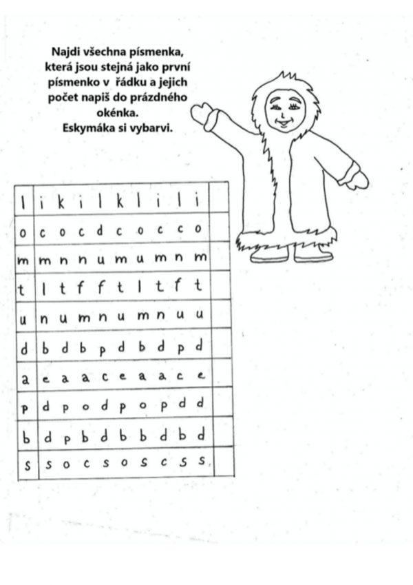 zimní, pracovní, list, listy, zvířata, číslice, písmena, trénovat, řeč