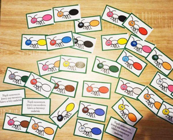 jarní, hrátky, mravence, Karlíka, mravenec, Karlík, jaro, hrát si, hlásky, R, Ř