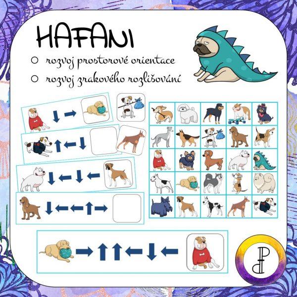 hafani, hafan, pes, pejsek, prostor, prostorový, prostorová, orientace, orientační, zrakové, zrakový, rozlišení, rozlišování