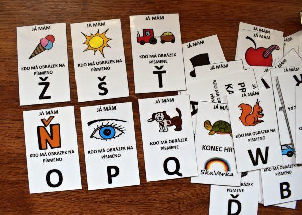 já, mám, kdo, má, abeceda, obrázky, obrázek, barvy, vybarvit, písmena, zvířata