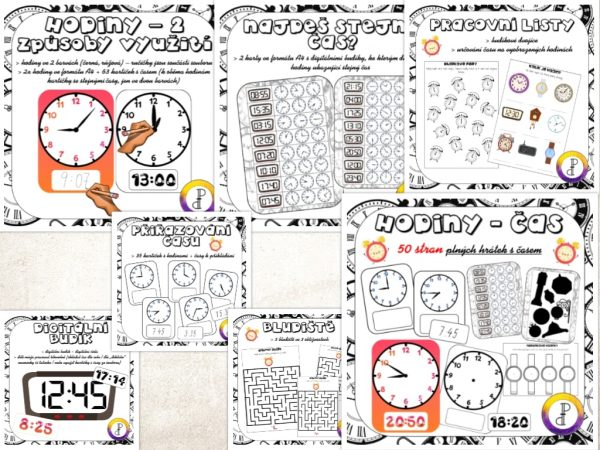 hodiny, čas, tik, ťak, cvak, utíkat, utíká, letí, letět, ciferník, malá, velká, ručička
