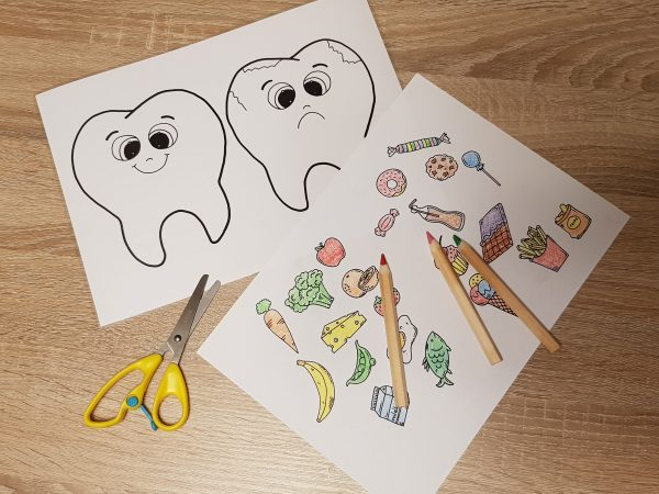 mami, proč, musím si, musím, čistit, zuby, zub, zoubek, zoubky, děti, hygiena, maminka, pracovní, list, listy, kartáček