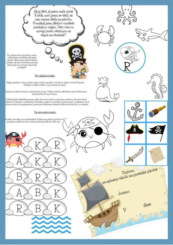 Pirátská, bojovka, kpirát, Bystré, oko, na, plavbě, za, vzácnou, perlou, pdf