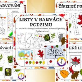 Listy, v, barvách, podzimu, obrázek, obrázky, podzim, barva, barvy