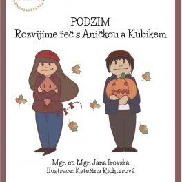 E-book, Podzim, Rozvíjíme, řeč, s, Aničkou, a, Kubíkem